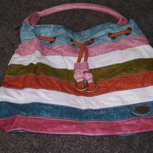 Multi colored purse